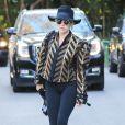 Lady Gaga se rend au domicile de Bradley Cooper à Los Angeles, le 28 décembre 2016