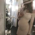 Nehuda enceinte, fin 2016.