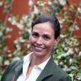 Inés Sastre People au village des Internationaux de France de tennis de Roland Garros à Paris. Le 23 mai 2016.
