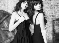 PHOTOS : Penélope et Monica Cruz, au top de leur sensualité en noir et blanc...