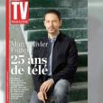 """Marc-Olivier Fogiel évoque sa carrière, sa photo dans TV Magazine et son mari. Emission """"C L'Hebdo"""" sur France 5. Le 21 janvier 2017."""