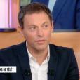 """Marc-Olivier Fogiel évoque sa carrière. Emission """"C L'Hebdo"""" sur France 5. Le 21 janvier 2017."""