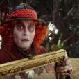 Johnny Depp - Capture d'écran de la bande-annonce d'Alice de l'autre côté du miroir.