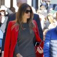 La femme de Donald Trump, Melania Trump et son fils Barron Trump vont déjeuner au restaurant Serafina à New York, le 17 novembre 2016.