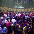 Ambiance - Céline Dion en concert à l'AccorHotels Arena à Paris, le 24 juin 2016.  © Dominique Jacovides/Bestimage