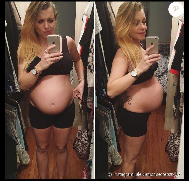 Alexia Mori dévoile le nombre de kilos qu'elle a pris - Instagram, janvier 2017