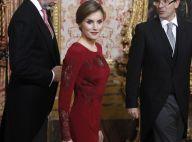 Letizia d'Espagne : Reine au bal des ambassadeurs dans la même robe qu'en 2013
