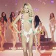 Nesma (Les Anges 9) lors du concours Miss Dream Girl 2016.
