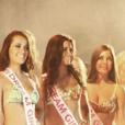 Nesma (Les Anges 9) et ses concurrentes lors du concours Miss Dream Girl 2016.