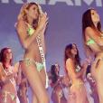Nesma (Les Anges 9) et des concurrentes lors du concours Miss Dream Girl 2016.
