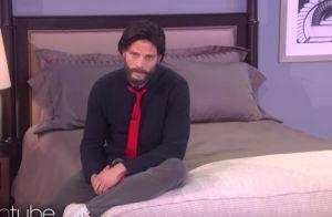 Jamie Dornan : Crâne rasé, la star de 50 Shades se moque de Christian Grey