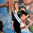 """Iris Mittenaere (Miss France 2016) à l'Avant-première du film d'animation """"Vaiana, la légende du bout du monde"""" au Cinéma le Grand Rex à Paris, France, le 15 novembre 2016. © Veeren/Bestimag"""