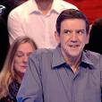 """Christian face à Mélanie dans """"Les 12 Coups de midi"""" sur TF1. Le 11 janvier 2017."""