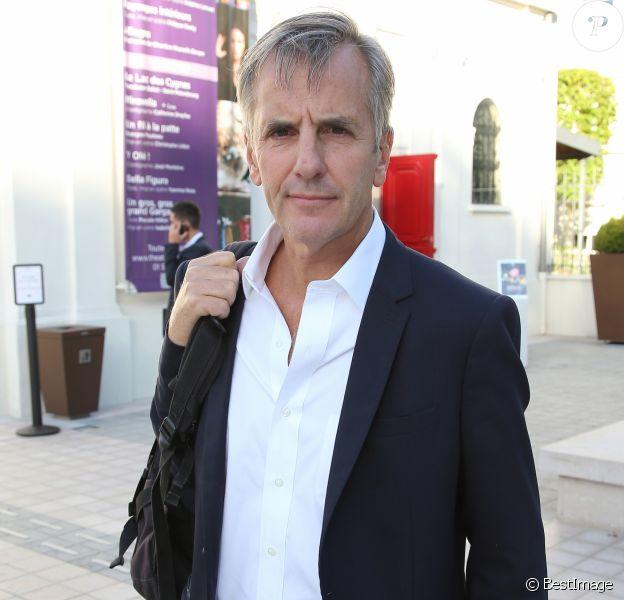 Exclusif - Bernard de la Villardière à la Conférence de rentrée M6 au théâtre des Sablons à Neuilly-sur-Seine, France, le 8 septembre 2016. © Marc Ausset-Lacroix/Bestimage