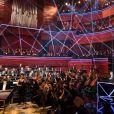 Semi-exclusif - Frédéric Lodéon, Leïla Kaddour-Boudadi -24ème Victoires de la musique classique à Radio France à Paris le 1er février 2017. © Cyril Moreau - Veeren Ramsamy / Bestimage