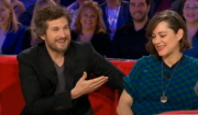 Guillaume Canet et Marion Cotillard dans Vivement Dimanche Prochain