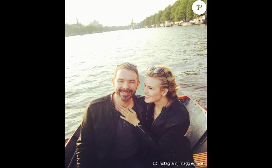 Maggie Grace s'est fiancée avec son amoureux Brent Bushnell - Photo publiée sur Instagram le 8 février 2017