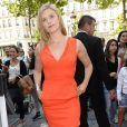 """Exclusif - Maggie Grace sur la terrasse du Publicis et à l'avant-première du film au cinéma """"Le Lincoln"""" lors du 3ème Champs-Elysées Film Festival à Paris, le 14 juin 2014."""
