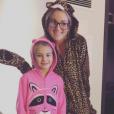 Jamie Lynn Spears et sa fille Maddie (octobre 2016).