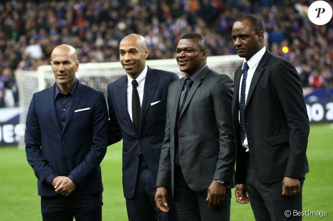 Zin dine zidane thierry henry marcel desailly patrick vieira hommage des anciens bleus - Coupe du monde 1998 chanson ...