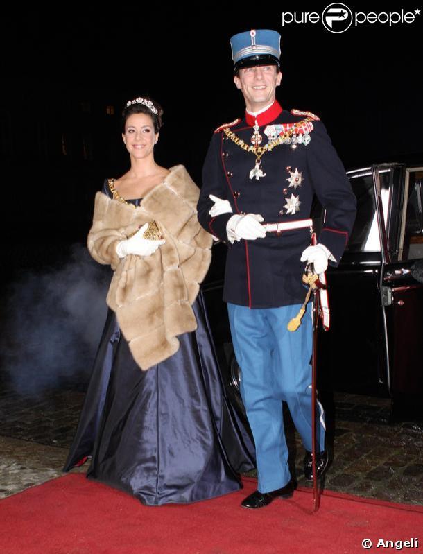 La princesse Marie de Danemark et son époux le prince Joachim