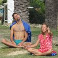 Novak Djokovic et sa femme Jelena en vacances à Marbella en Espagne le 20 octobre 2016. Parents de Stefan, né en octobre 2014, ils attendraient leur 2e enfant pour août 2017 selon le tabloïd serbe  Blic .