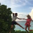 Novak Djokovic et sa femme Jelena, parents d'un petit Stefan né en octobre 2014, attendraient leur 2e enfant pour le mois d'août 2017 selon le tabloïd serbe  Blic . Photo Instagram 2016.