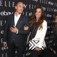 """Alanis Morissette et son mari Mario Treadway à la soirée """"Elle"""" à Hollywood, 20 mai 2015"""