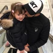 Karim Benzema : Un bisou à Mélia avant d'entrer dans l'histoire