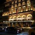 """Exclusif - Gad Elmaleh se produit sur la mythique scène du """"Carnegie Hall"""" à New York, avec son spectacle """"Oh My Gad"""", entièrement joué en anglais. New York, le 11 février 2017. © Dominique Jacovides/Bestimage"""