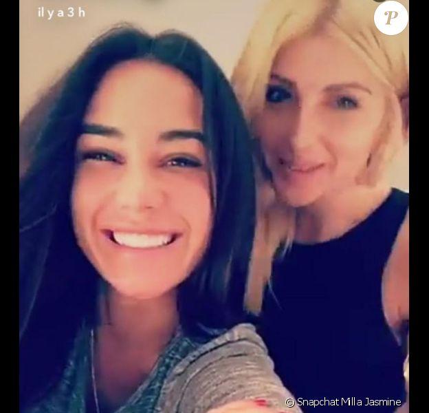 Milla Jasmine et Mélanie à Miami, le 19 février 2017.