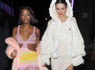 Kendall Jenner à la fête avec Bella Hadid et la torride Stella Maxwell