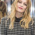 """Vanessa Paradis au défilé de mode Haute-Couture printemps-été 2017 """"Chanel"""" au Grand Palais à Paris le 24 janvier 2017. © Olivier Borde / Bestimage"""