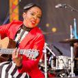 Lauryn Hill en concert lors du Festival Jazz & Heritage à La Nouvelle-Orléans, le 29 avril 2016 © Daniel DeSlover via Bestimage