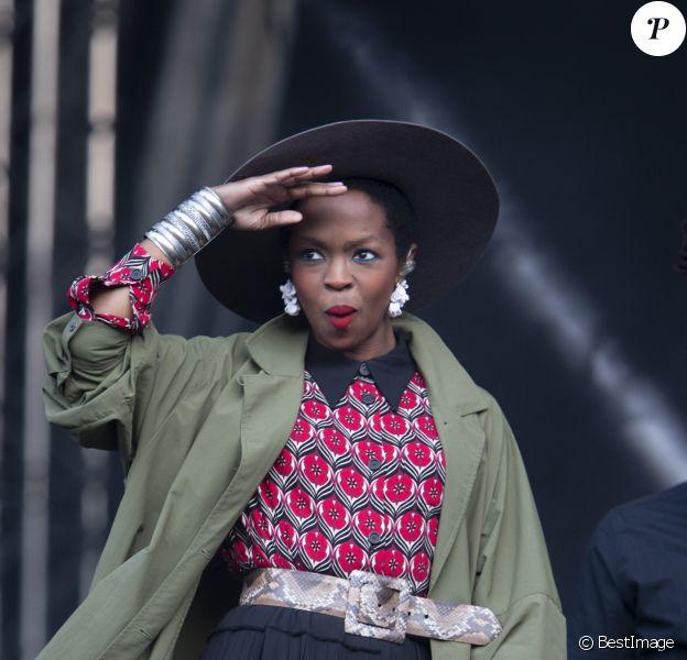 """Lauryn Hill - Festival """"Way Out West"""" à Stockholm. Le 14 août 2015 """"Way Out West Festival"""" à Stockholm."""
