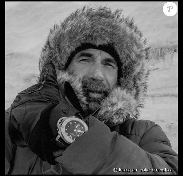 Mike Horn en Antarctique, 2016