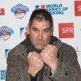 Semi-exclusif - Gildas Morvan - Cocktail de la soirée des World Series of Boxing France vs Angleterre à la salle Wagram à Paris le 23 février 2017. © Cyril Moreau/Bestimage