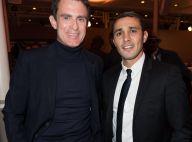 Manuel Valls de retour à une soirée punchy, avec Alain Pompidou et sa femme