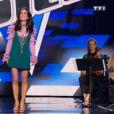 """Jenifer dans """"The Voice, la suite"""", sur TF1, le samedi 25 février 2017."""