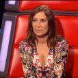 """Zazie sous le charme de Jenifer dans """"The Voice, la suite"""", sur TF1, le samedi 25 février 2017."""