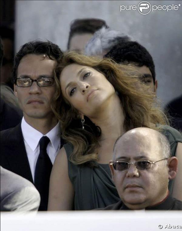 Jennifer Lopez et Marc Anthony à Porto Rico. 02/01/09