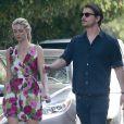 Exclusif - Josh Hartnett et sa petite amie Tamsin Egerton visitent des maisons dans le quartier de Hollywood Hills, le 14 mars 2015