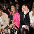 """Nicki Minaj et Alexa Chung - Défilé de mode """"H&M STUDIO"""" collection prêt-à-porter printemps-été 2017/2018 au Tennis Club de Paris, le 1er mars 2017. © CVS-Veeren/Bestimage"""