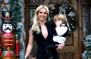 Britney Spears au mariage de son frère avec ses fils... trop choupinous  !!