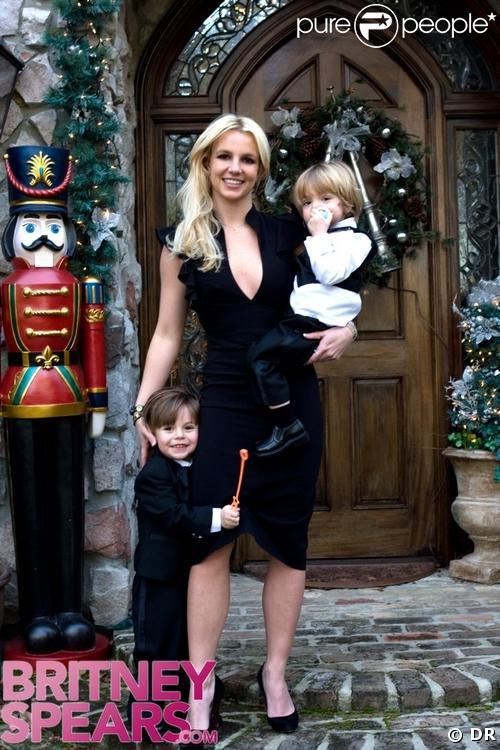 Britney Spears au mariage de son frère avec ses fils trop