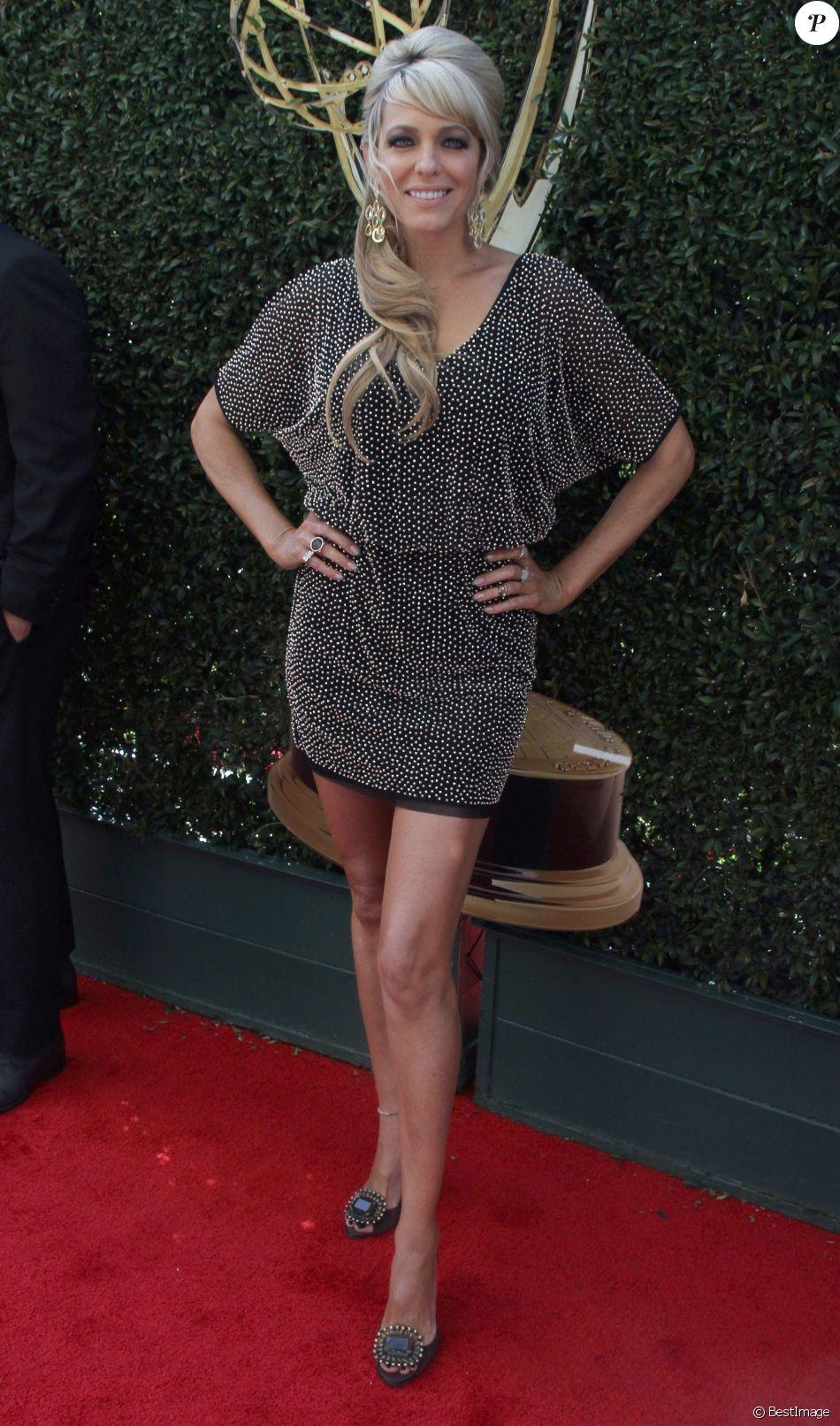 Arianne Zucker à la soirée Daytime Emmy Awards 2016 à l'hôtel Westin Bonaventure à Los Angeles, le 1er mai 2016