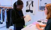 "Mariama poisseuse dans ""Les Reines du shopping"", M6, mercredi 1er mars 2017"