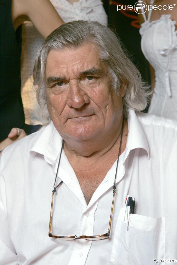 Jean-Claude Brisseau lors de la première des Anges Exterminateurs en septembre 2006