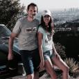 Renaud Lavillenie et Anaïs Poumarat, ici en voyage à Los Angeles au printemps 2016, vont se marier ! Le perchiste a fait sa demande en mariage à l'occasion du 28e anniversaire de sa compagne fin février 2017. Photo Instagram Anaïs Poumarat.
