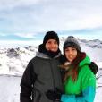 Renaud Lavillenie et Anaïs Poumarat, ici à Tignes en janvier 2017, vont se marier ! Le perchiste a fait sa demande en mariage à l'occasion du 28e anniversaire de sa compagne fin février 2017. Photo Instagram Anaïs Poumarat.
